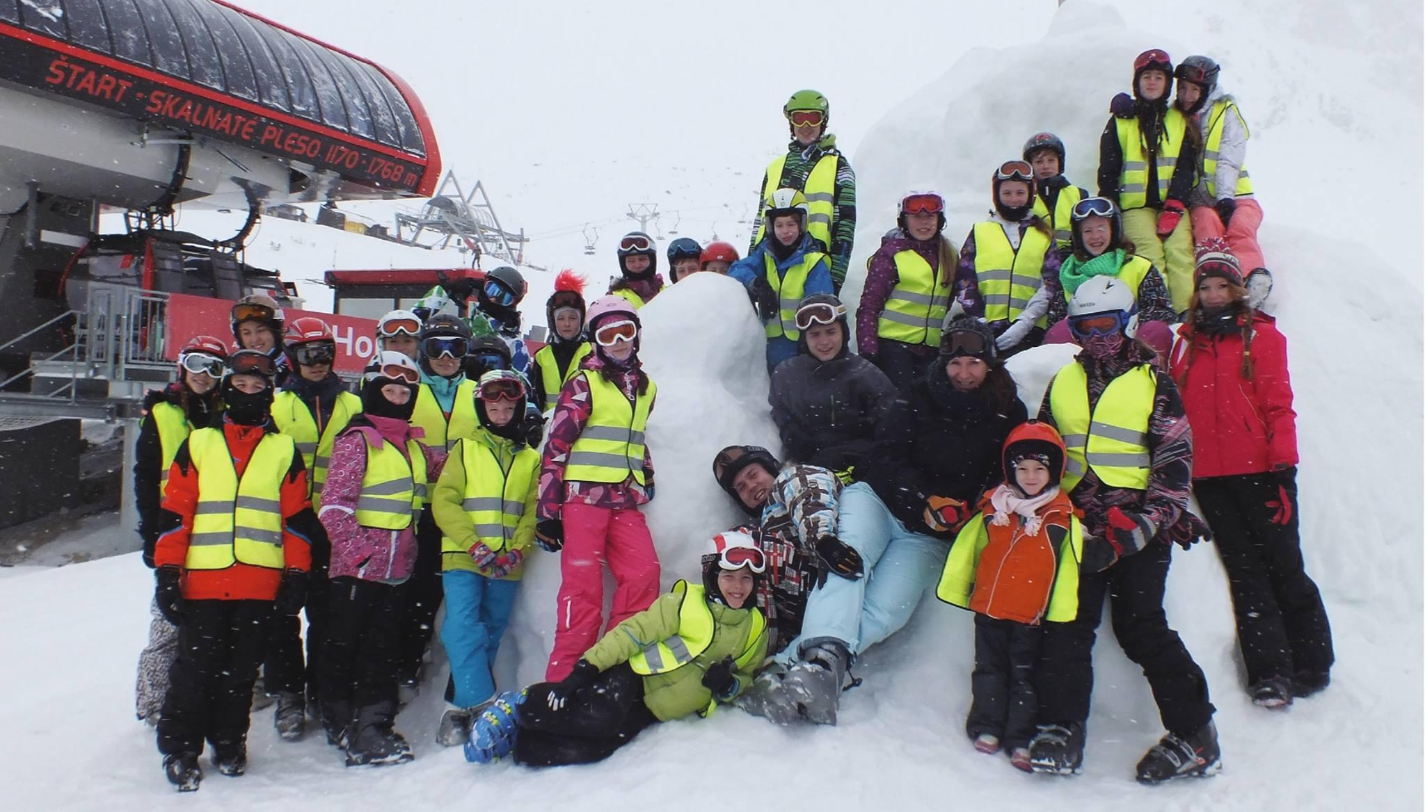 Jarný zimný detský tábor 2017