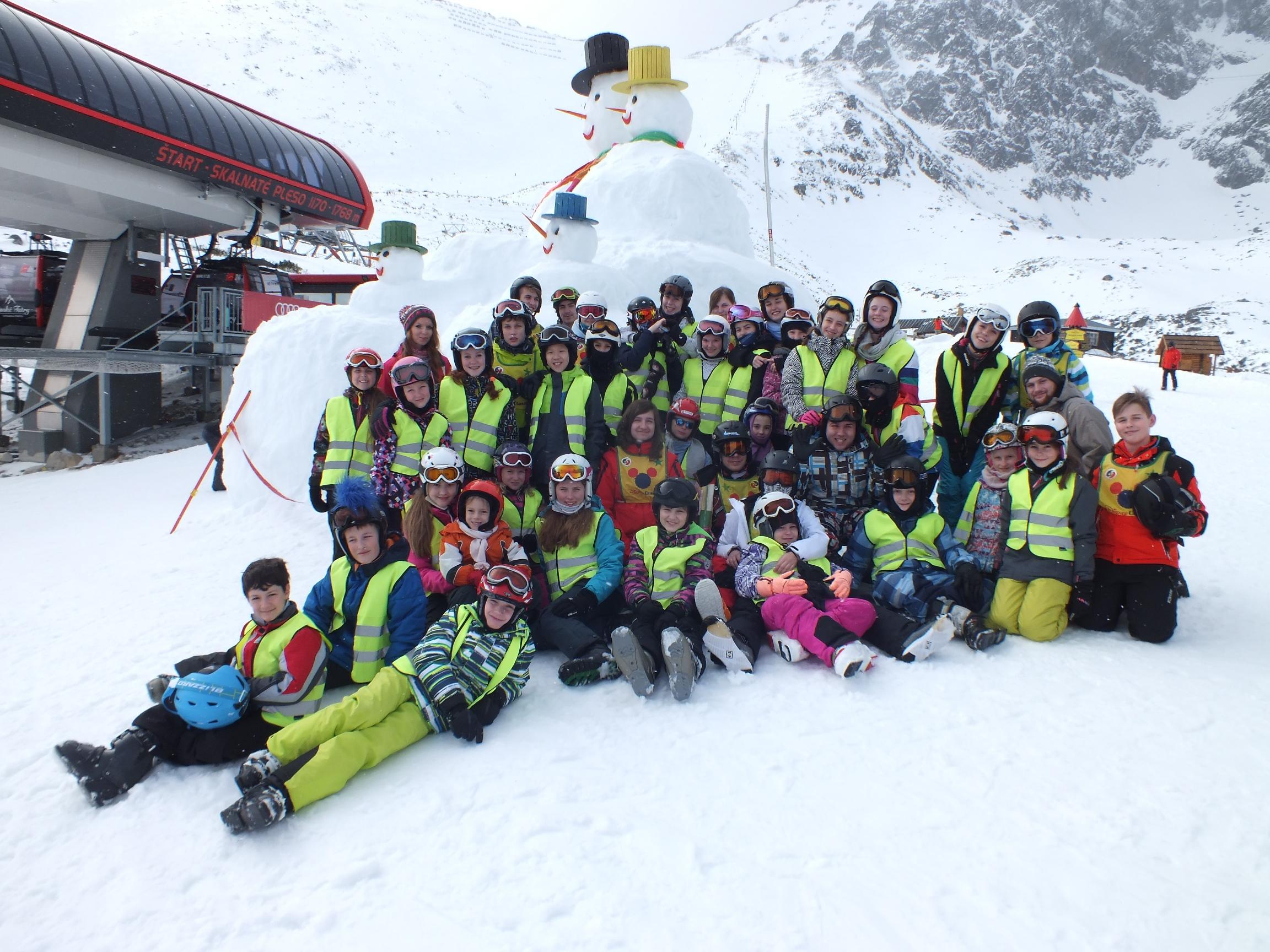 Jarný zimný detský tábor 2018