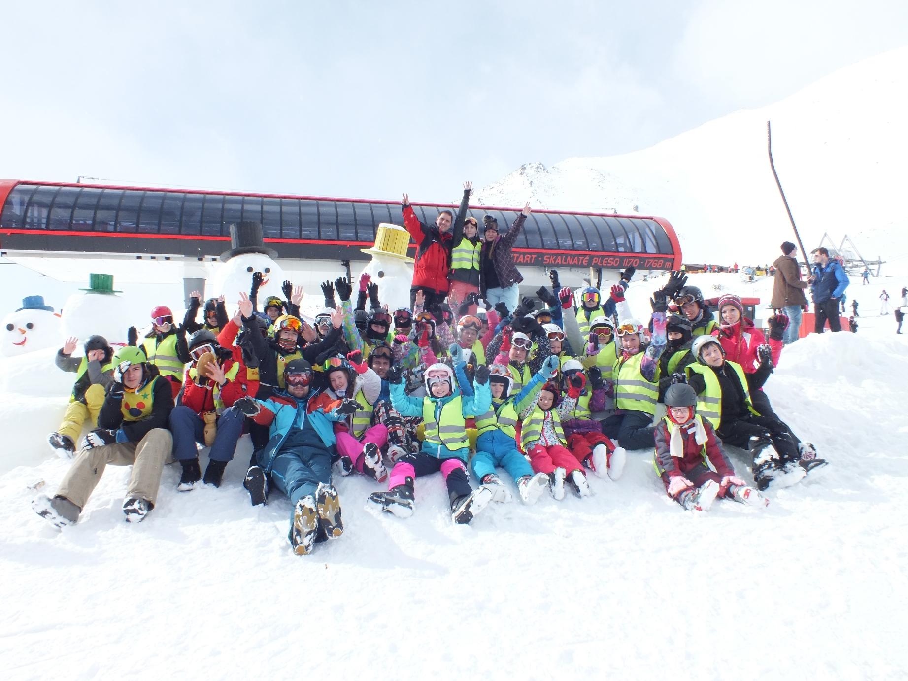 Lyžiarsky jarný zimný detský tábor 2019